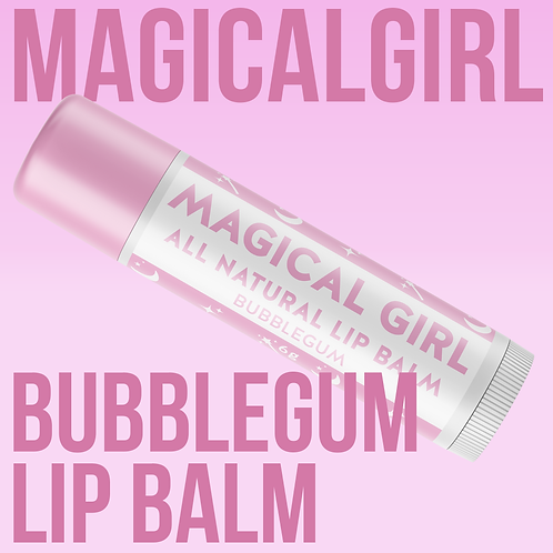 Magical Girl Vegan Lip Balm - Bubblegum