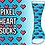 Thumbnail: Pixel Heart Crew Socks