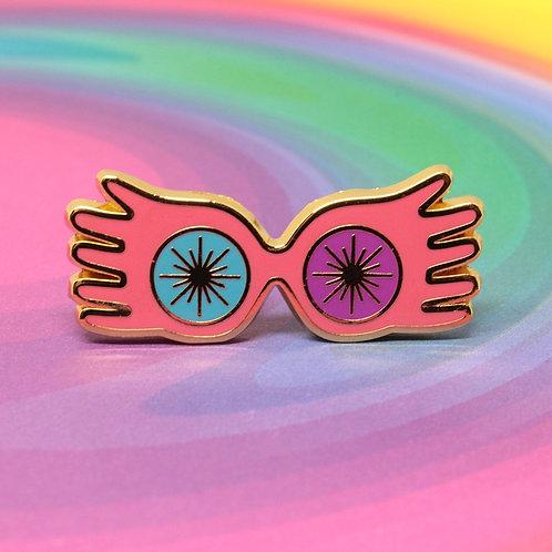 FLAWED Spectres Enamel Pin