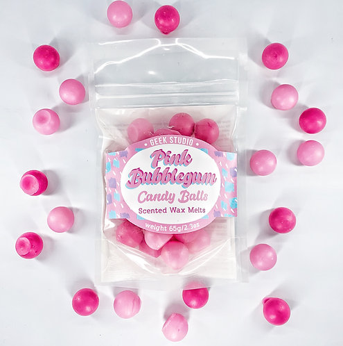 Pink Bubblegum Scented Wax Melts