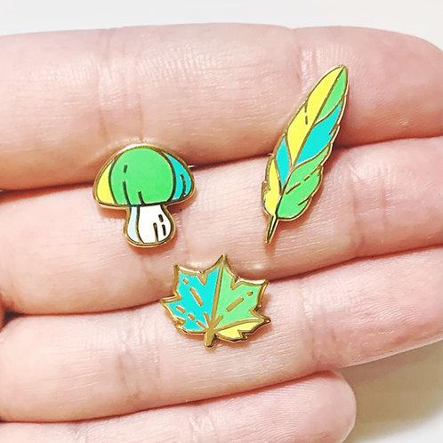 Forest Mini Pin Set