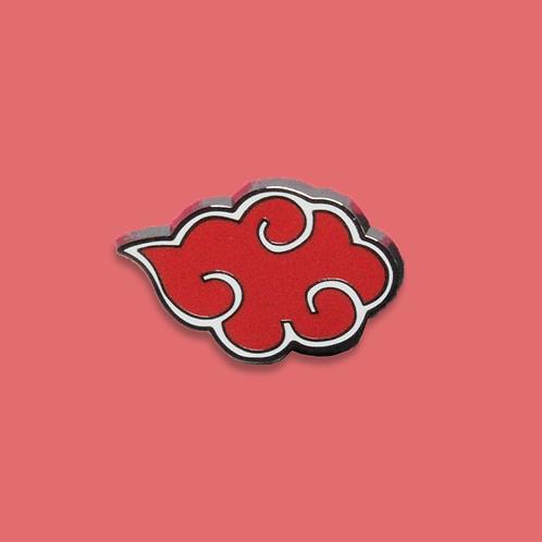 Red Cloud Enamel Pin