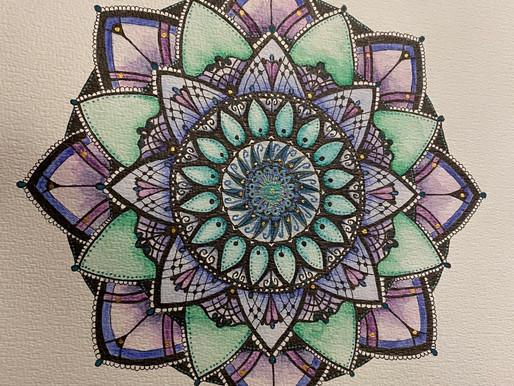 Inspirational Mandala Januari