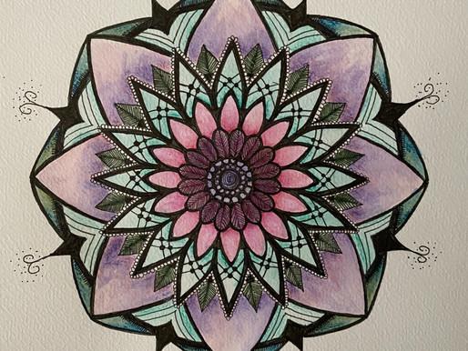 Inspirational Mandala Februari
