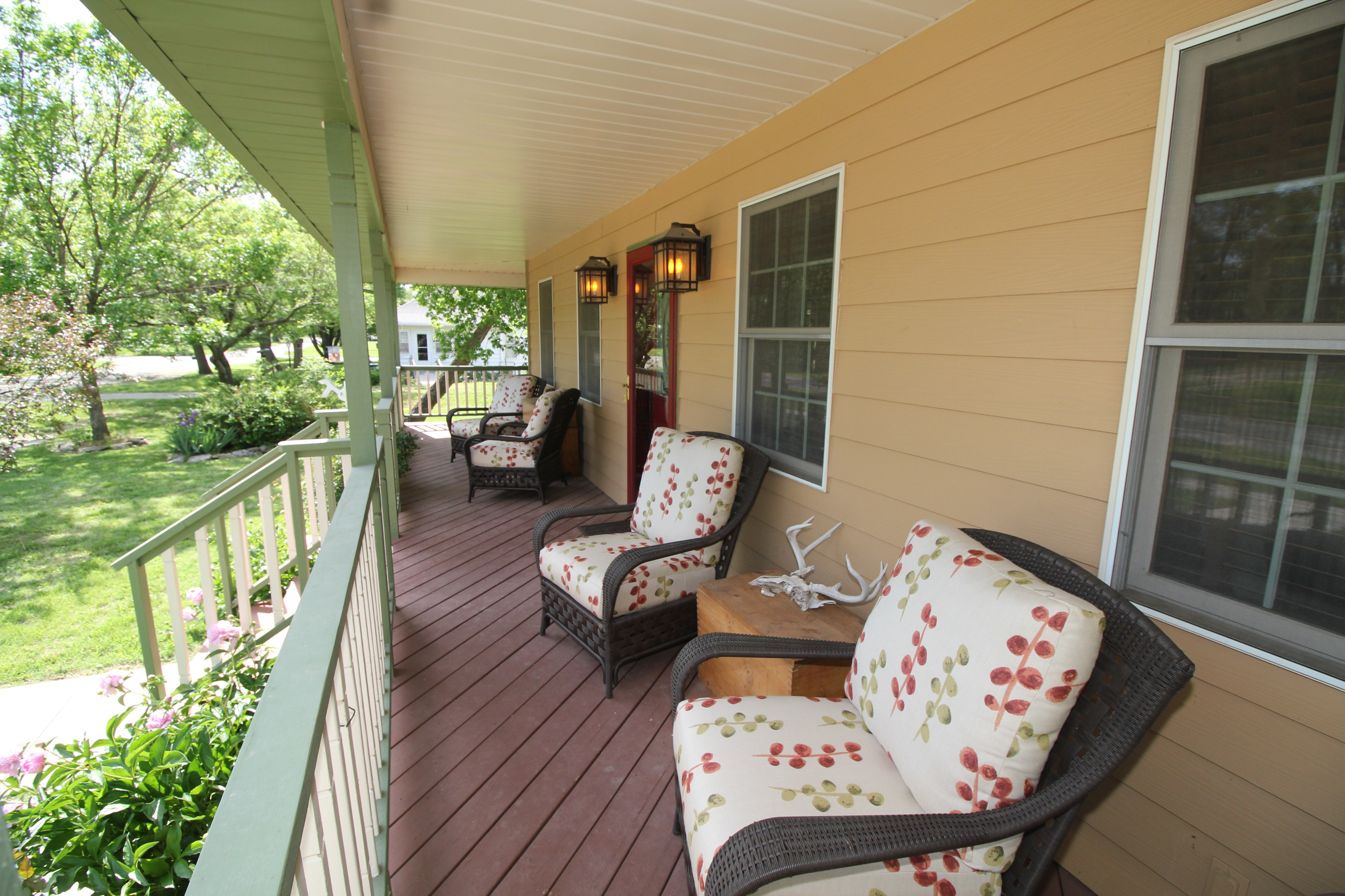 Comfy Chairs on the Porch