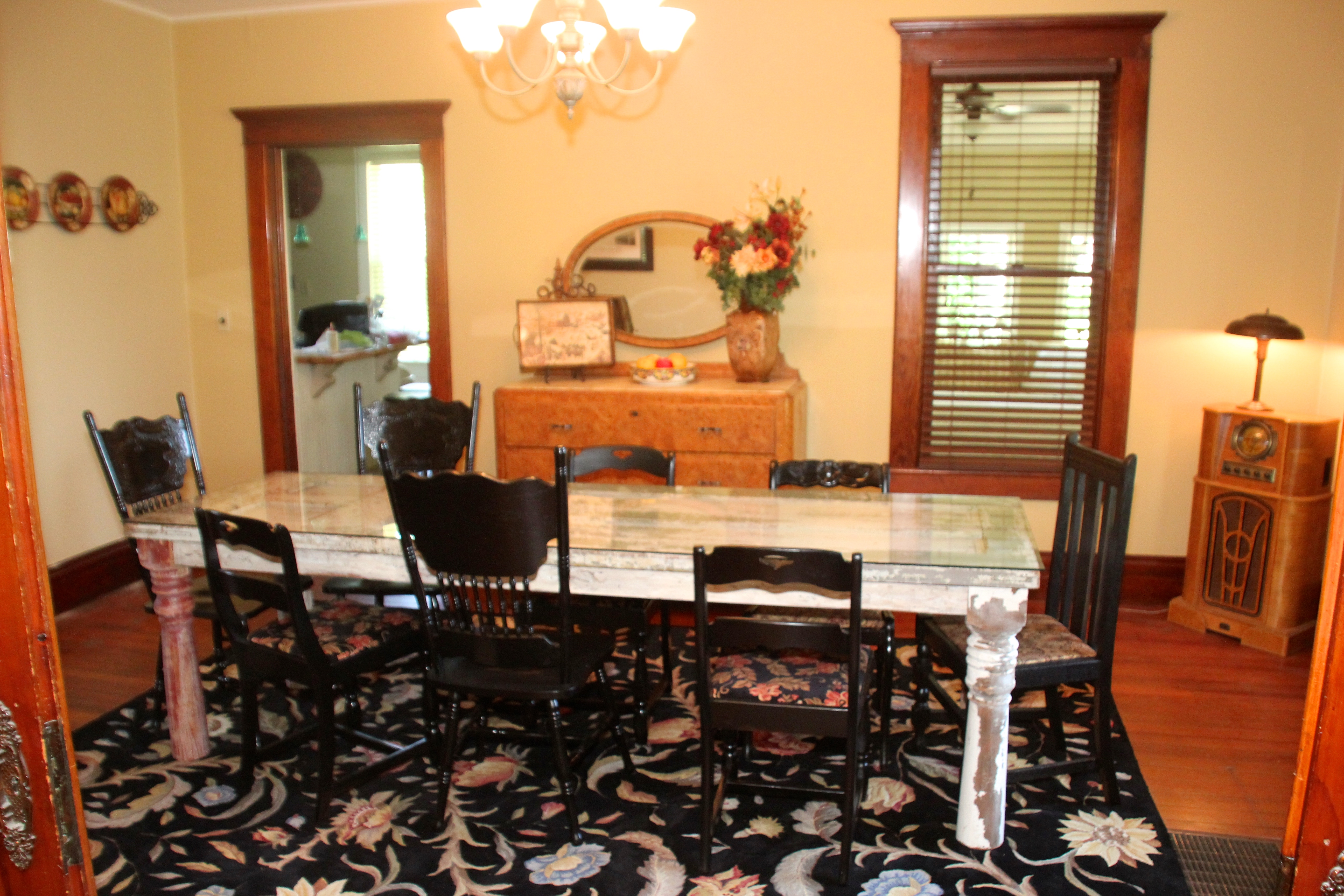 Oversized Dining Table Seats 12