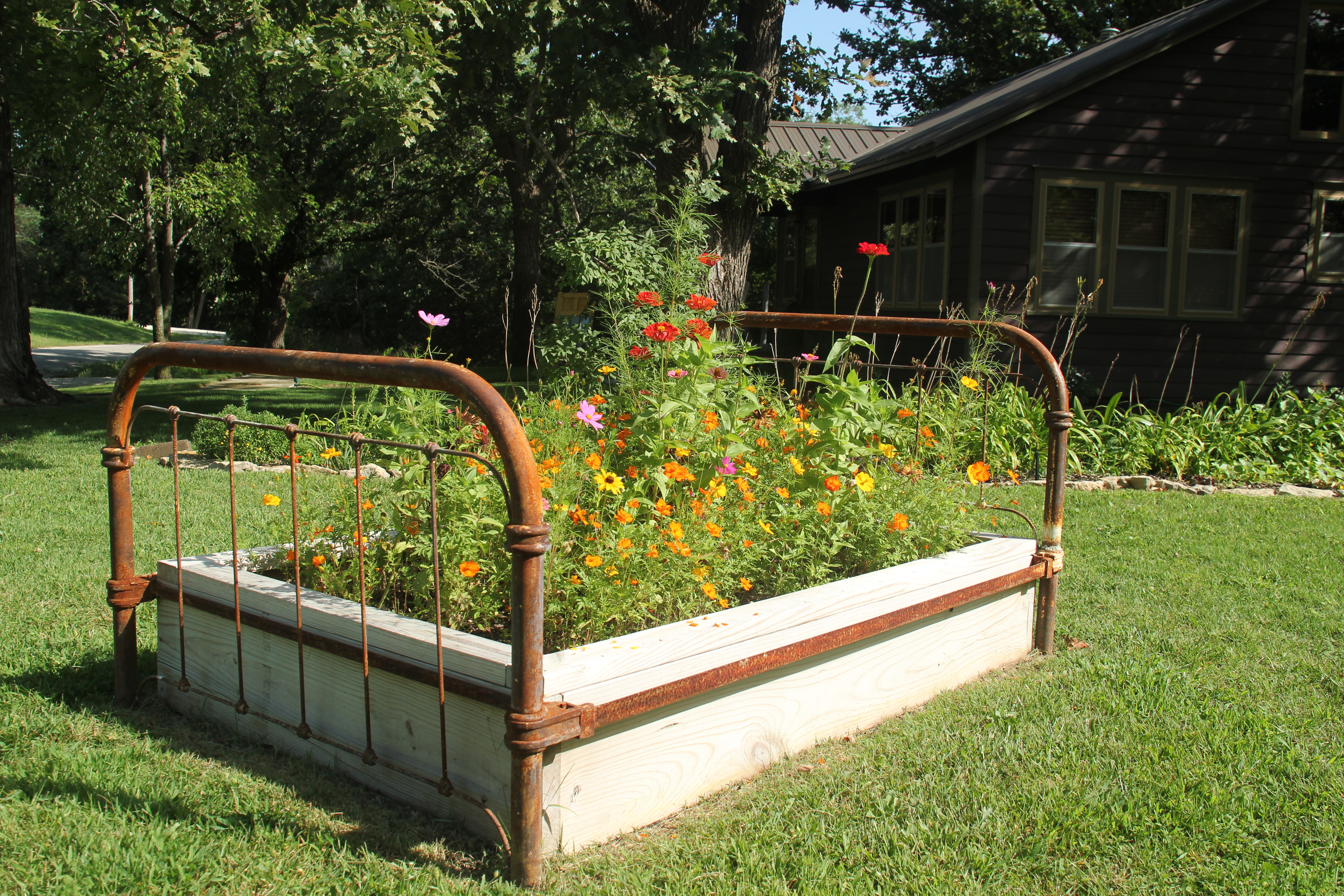 Flower Bed?!