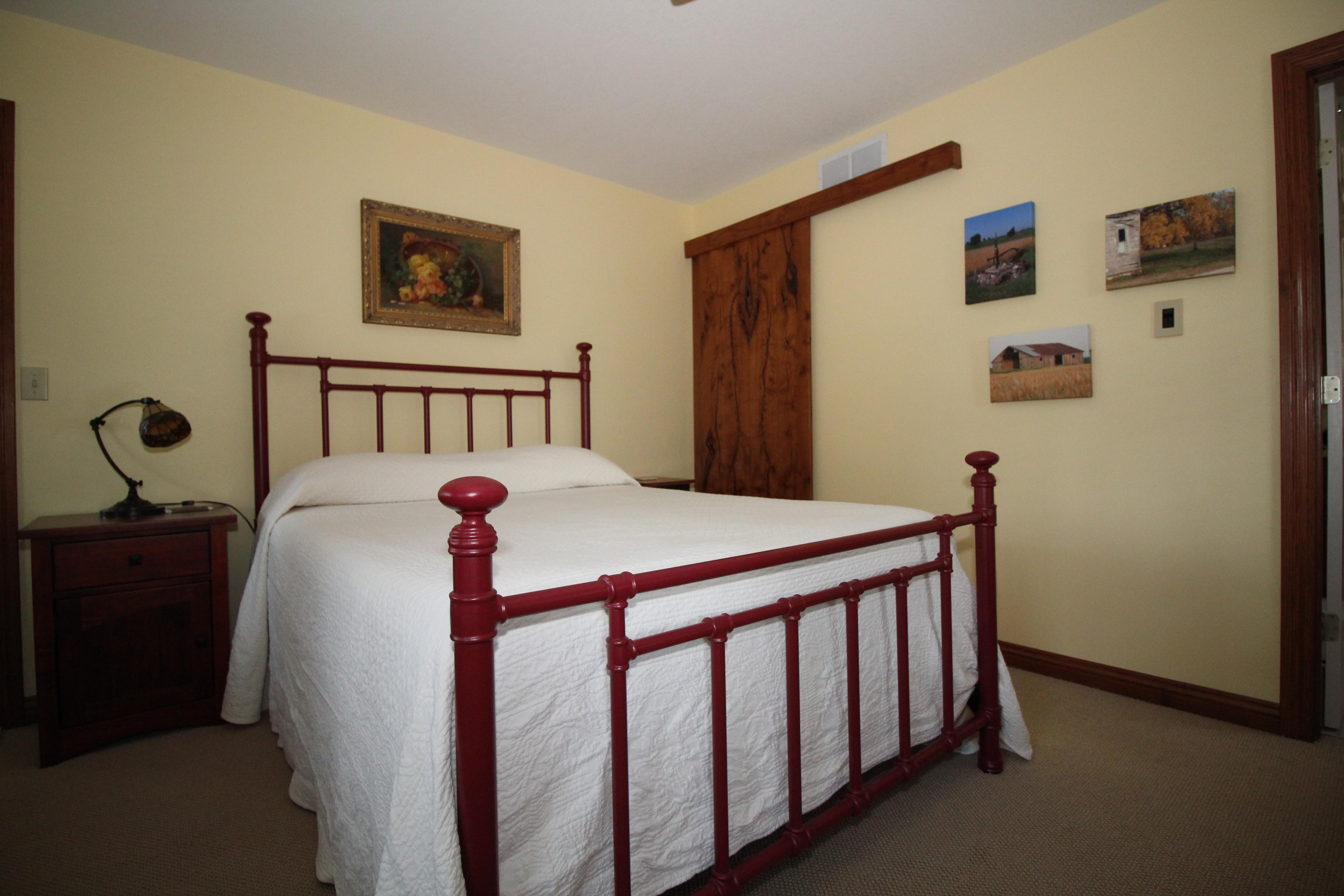 Prairie House Downstairs Bedroom