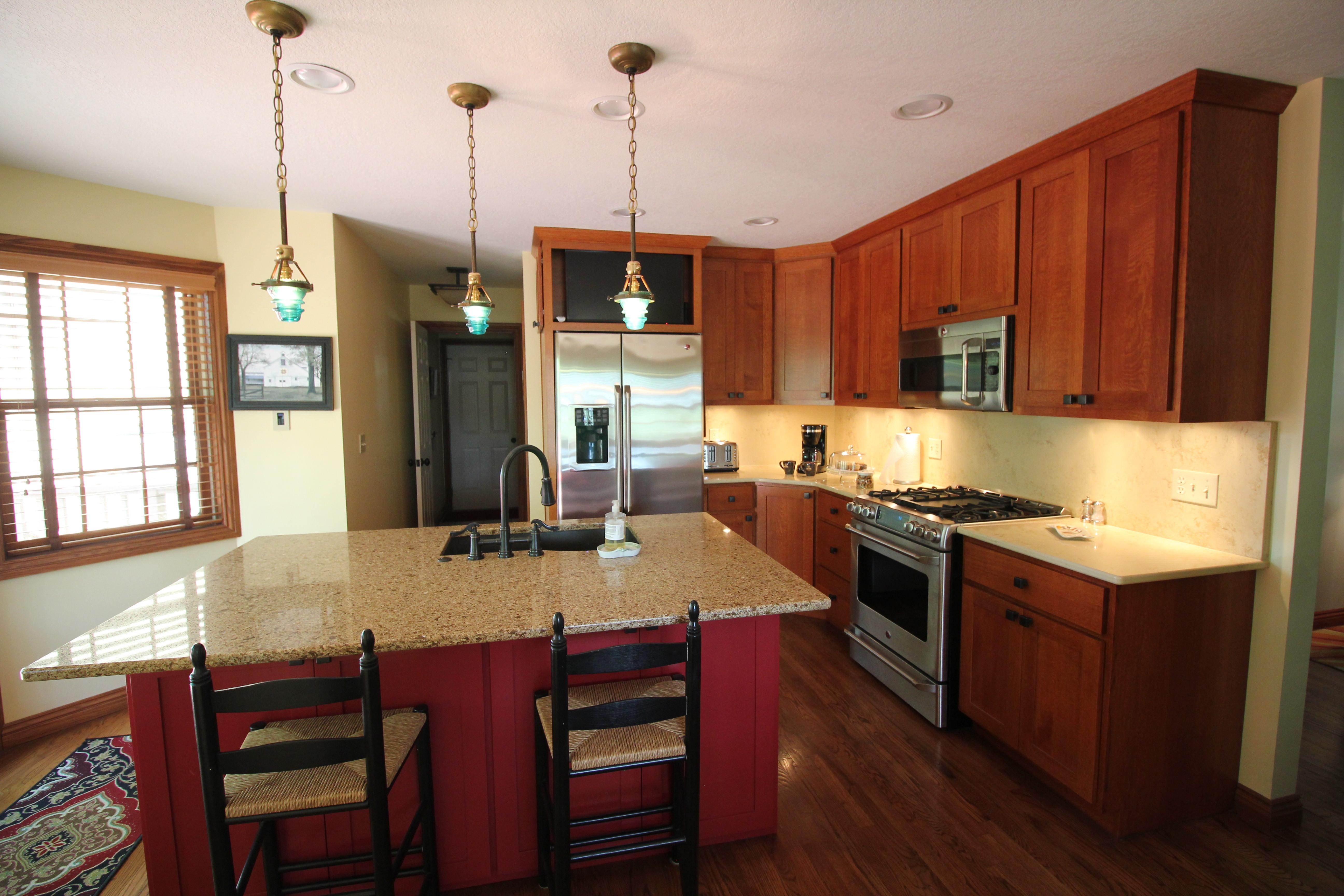 Prairie House Kitchen