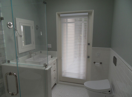 Hunter Douglas Silhouette Shades for the Bathroom