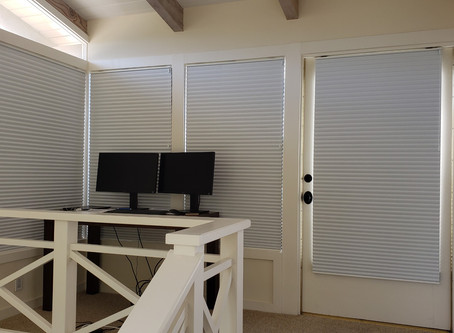 Some Century Blinds Honeycombs to Cut Down on Glare and Heat Buildup