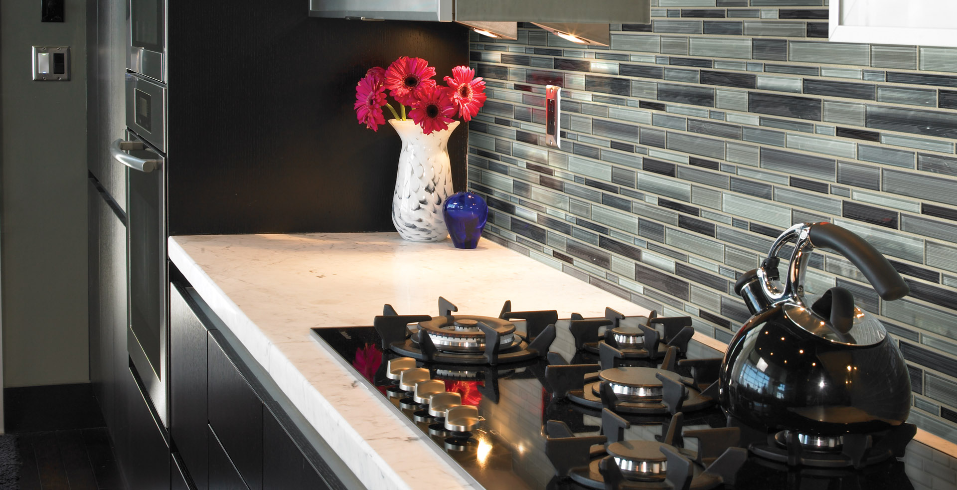 Countertop and backsplash