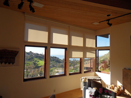 Rollershades for Large View Windows