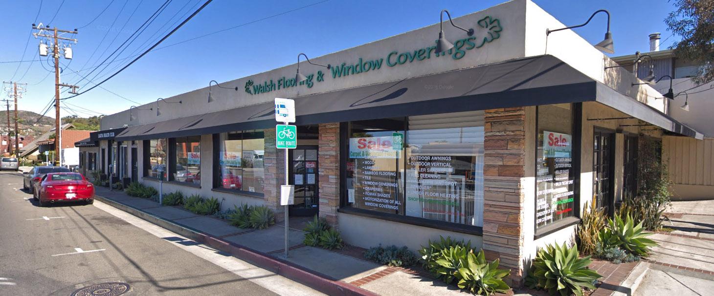 Walsh Floors & Windows Storefront
