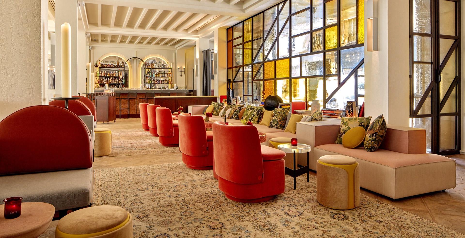Hotel Lobby and Bar Carpet