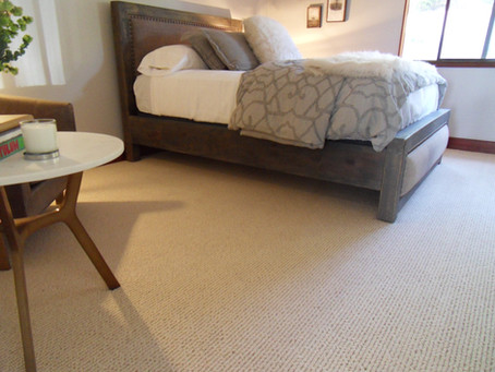 Stunning 100% Wool Carpet for Guest Bedroom