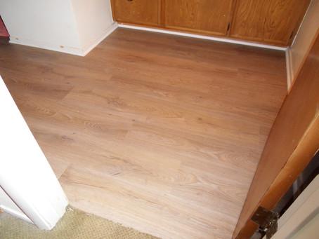 New LVT Flooring to Update an Old Bathroom