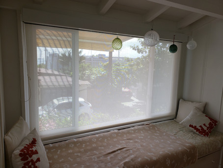 Bay Window Rollershade