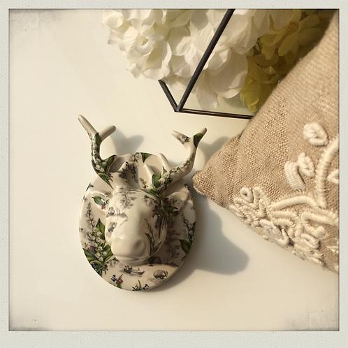Arobo fleur deer wall deco