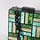 Thumbnail: Fave Noelle vintage look art deco square lucite box clutch purse