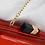 Thumbnail: Rouge lipstick vegan patent box Clutch bag
