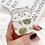 Thumbnail: Printed printed clear lucite perspex bakelite storage airpods case
