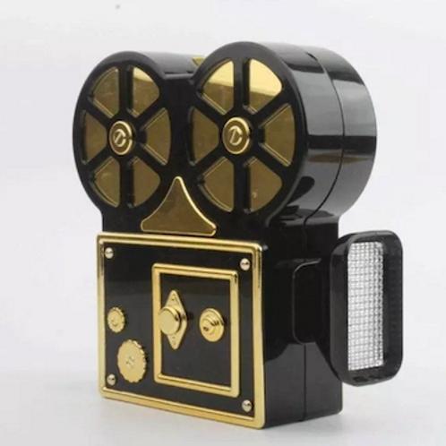 Cameron Rare vintage camera lucite box Clutch case bag