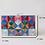 Thumbnail: Rainbow chess lucite box Clutch case bag