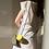 Thumbnail: Geo zen cos look tiny vegan leather necklace box bag purse