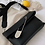 Thumbnail: Edgy  bold oversized safety pin vegan leather Clutch bag purse