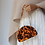 Thumbnail: Tara lucite half moon lucite perspex bakelite clutch purse case bag