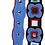 Thumbnail: Removable novelty 3-dimensional embellished straps