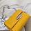 Thumbnail: Penn MM3 statement bold metal lock hardware croc purse clutch bag