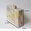 Thumbnail: Gia lucite marble case box clutch bag purse