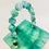 Thumbnail: Rare Jady lucite square cube box lucite resin perspex bakelite clutch purse case