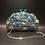Thumbnail: Flamingo Moschino look Red carpet glam rhinestone beaded box bag Clutch pursee