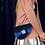 Thumbnail: Florence rare artsy motif pattern clutch purse case bag
