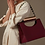 Thumbnail: Kinfolk metal handle rope strap vegan leather special purse bag
