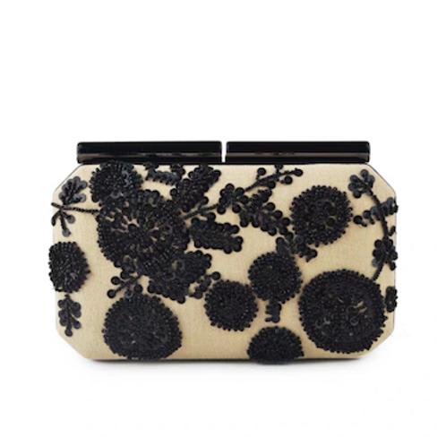 Daisy Chanel look elegantly beaded box bag Clutch purse