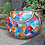 Thumbnail: Indian Vintage traditional multi rainbow candy color mix cross-shoulder bag case