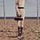 Thumbnail: Sally Chloe Celine look contemporary textured handle vegan leather Clutch bag