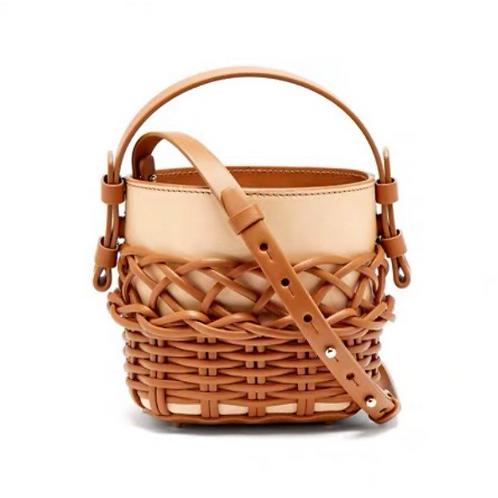 Celine Chloe vibe bold vegan leather basket look vegan leather