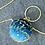 Thumbnail: Starry velvet lurex metallic embroidered globe sphere round box Clutch