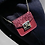 Thumbnail: Mini cuteness glitter Rhonna vegan leather bag necklace