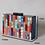 Thumbnail: Miranda rainbow jigsaw lucite box Clutch bag