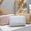 Thumbnail: Winni iridescent box case clutch purse
