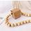 Thumbnail: Rare handmade zen cos look tiny vegan leather necklace box bag purse