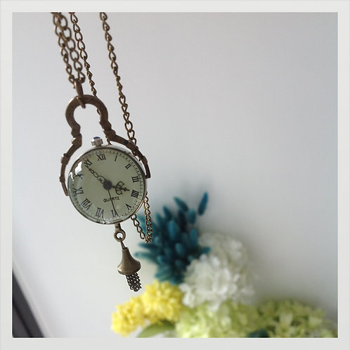 Shirley necklace pocket watch
