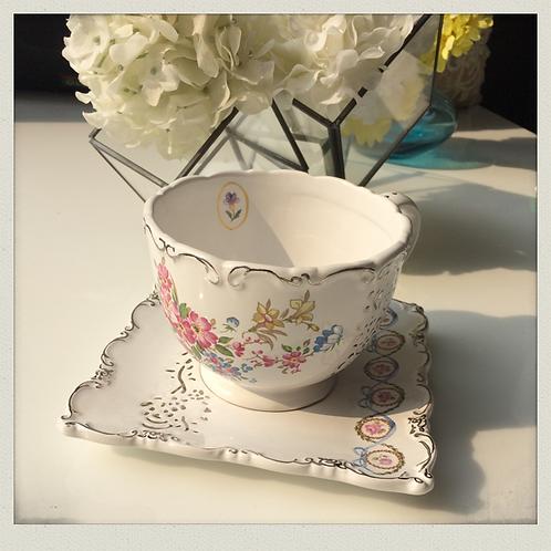 Grace-rosie porcelain tea set