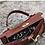 Thumbnail: Geri handcarry handle vegan croc leather Clutch bag case purse